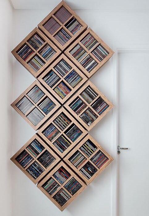 Cube Dvd Storage