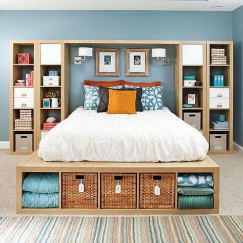 Unique bedroom storage ideas