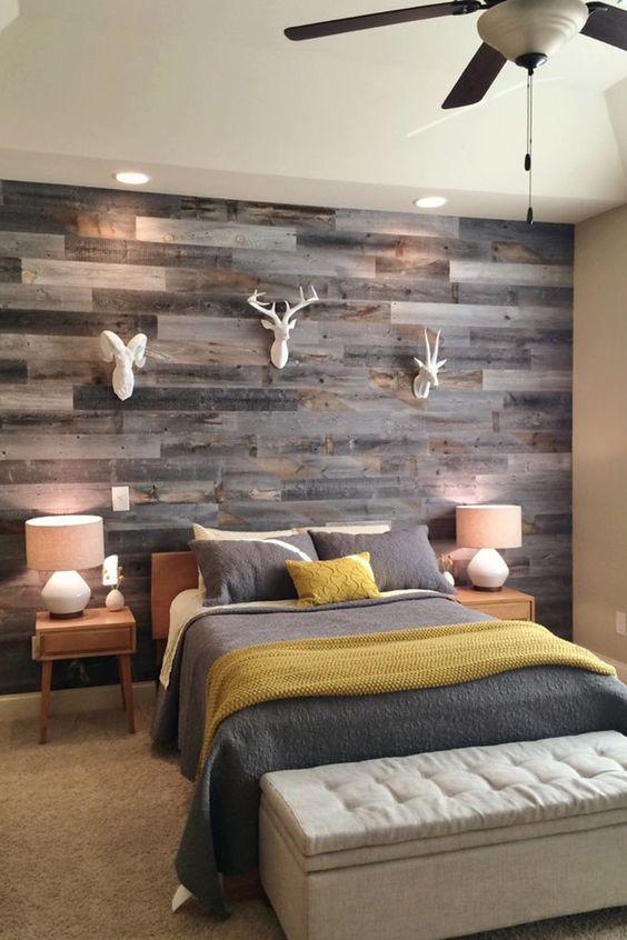 Rustic Bedroom Wall Decor Ideas from simplyfutbol.com