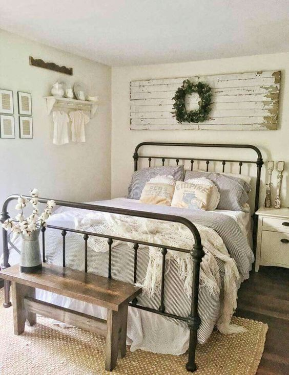 20 Rustic Bedroom Ideas for Creative People - Simply Home