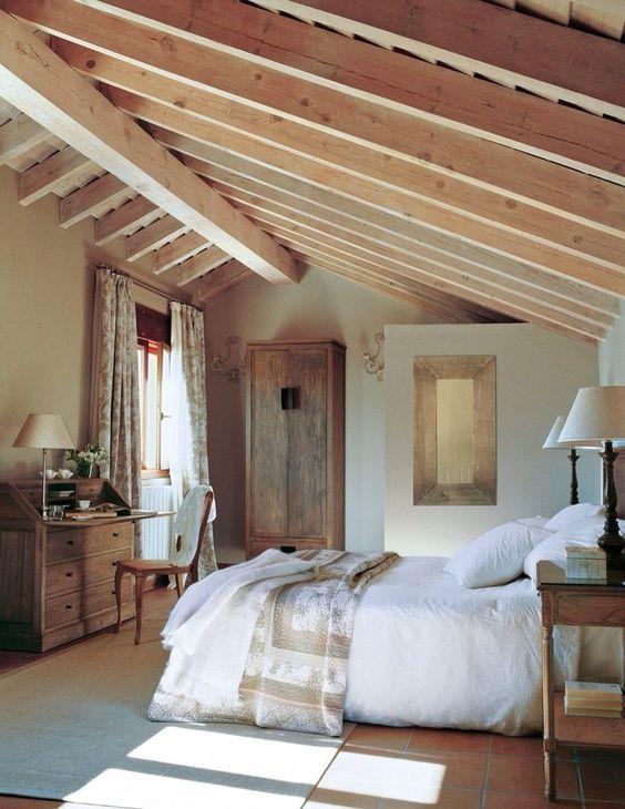 rustic bedroom idea