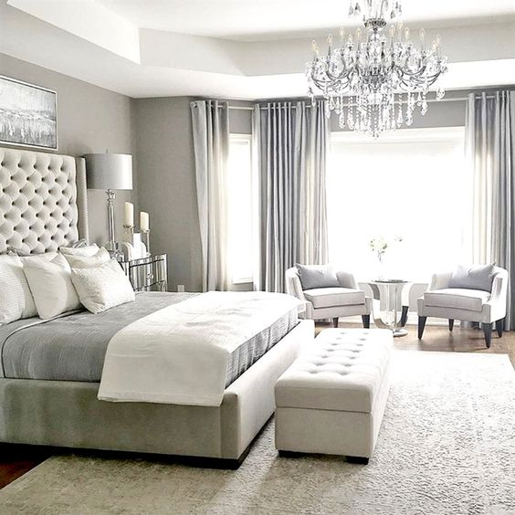 White Master Bedroom Ideas