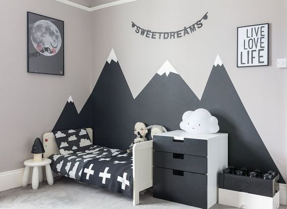 Paint the Mountains | Bedroom paint ideas