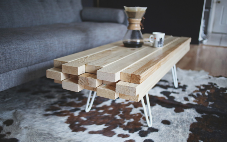 Cheap Coffee Table DIY