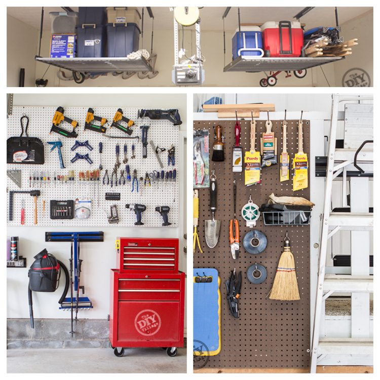 Cool Garage Ideas 16: 20+ Easy And Cheap Garage Storage Ideas