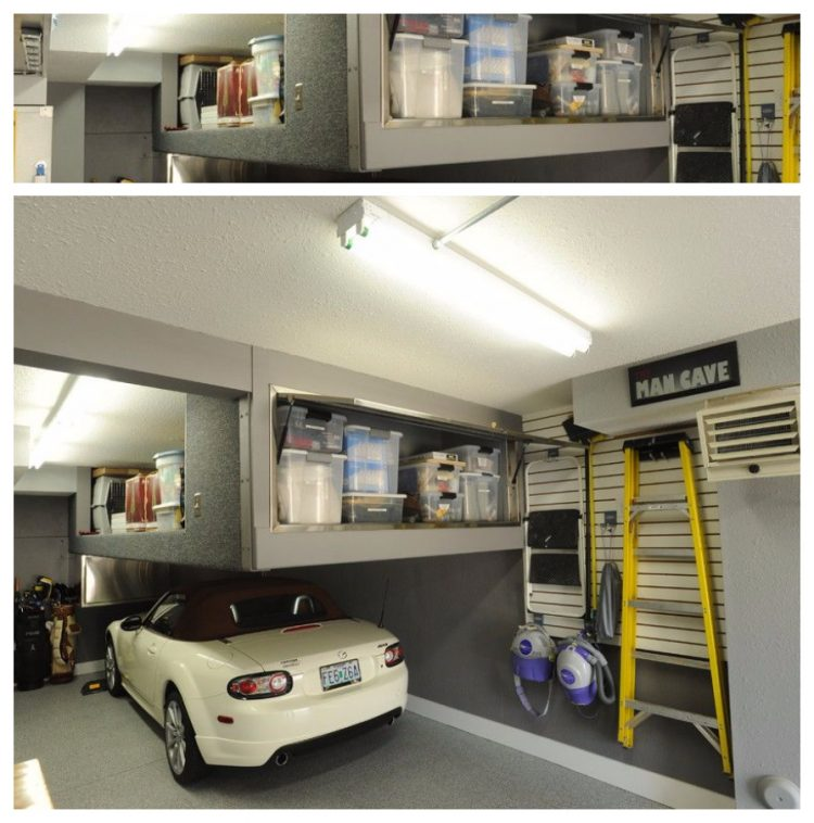 20+ Easy And Cheap Garage Storage Ideas