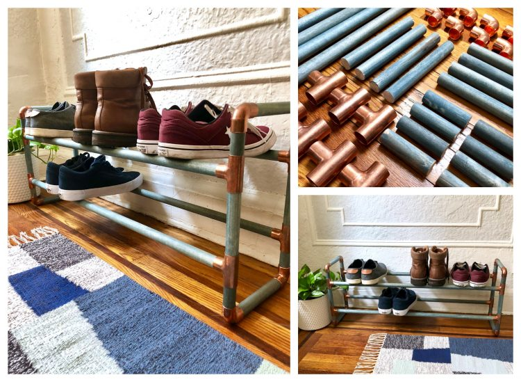 Homemade Shoe Rack