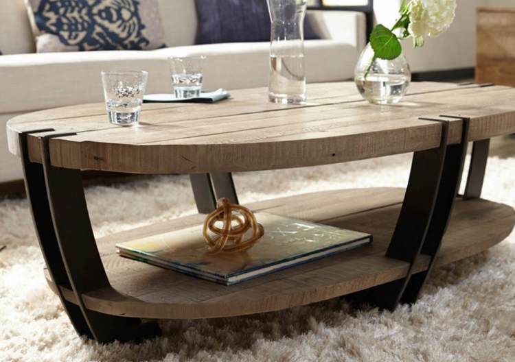 Oval Coffee Table diy