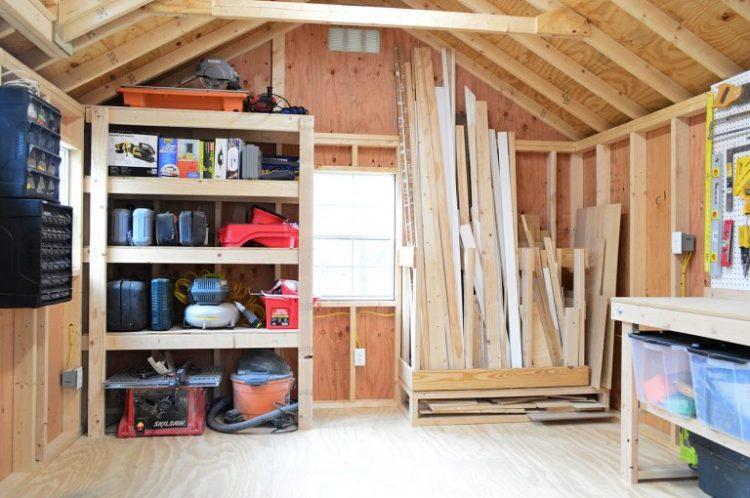 garage shelving ideas
