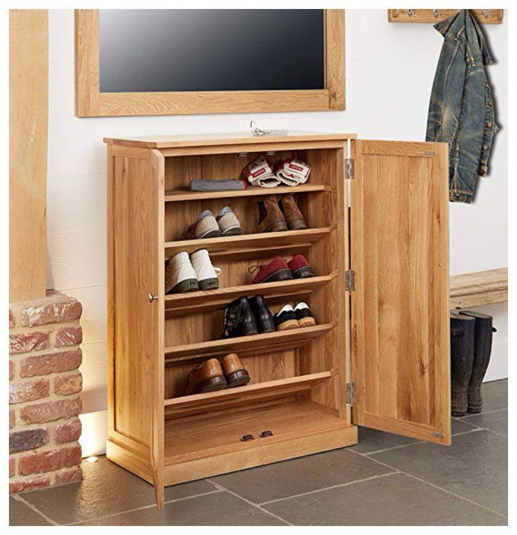 Shoe Cabinet Wood