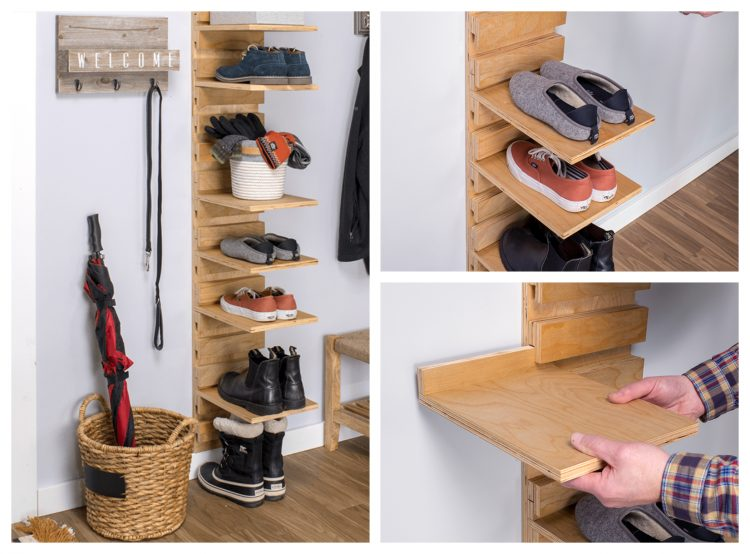 21 Easy And Cheap Diy Shoe Rack Ideas Simplyhome