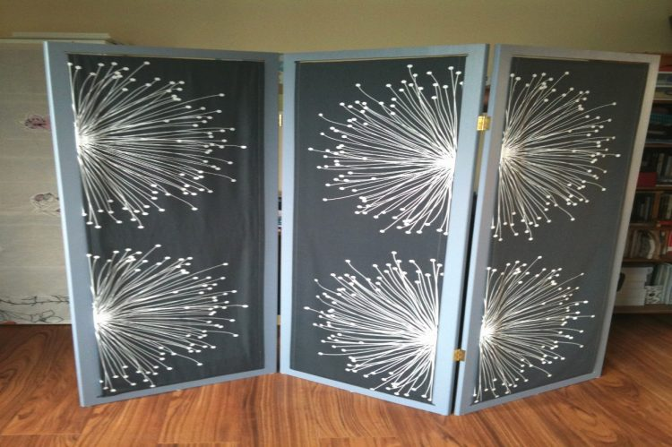 DIY Divider with Fabric
