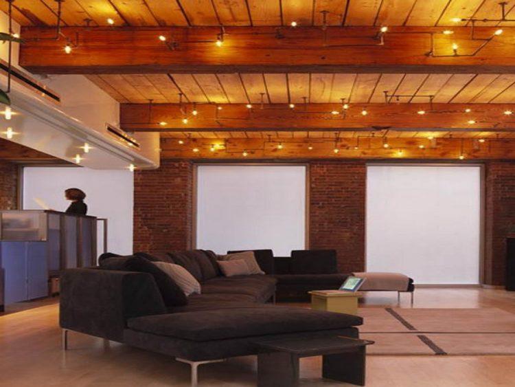 Wood Basement Ceiling
