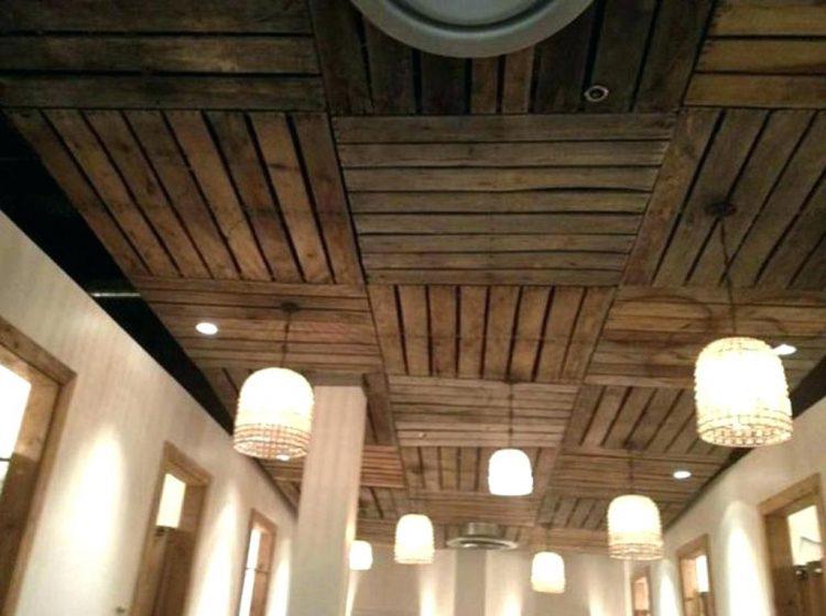 Wood Basement Ceiling Ideas