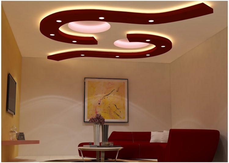 Cool Shape Basement Ceiling Ideas