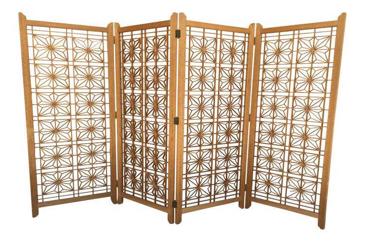 Room Divider with Morrocan Style