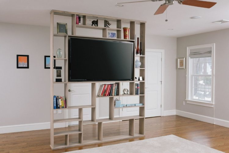 TV Stand on Shelves