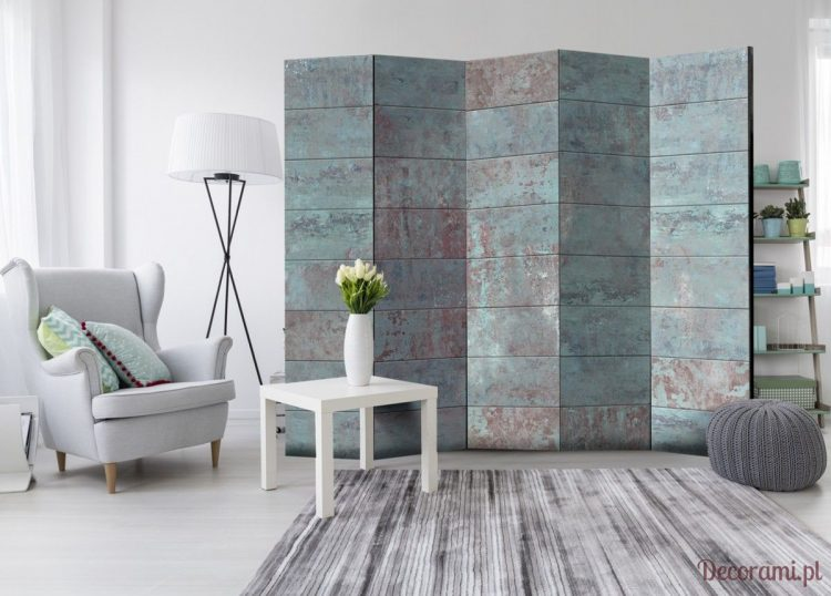Concrete Room Divider