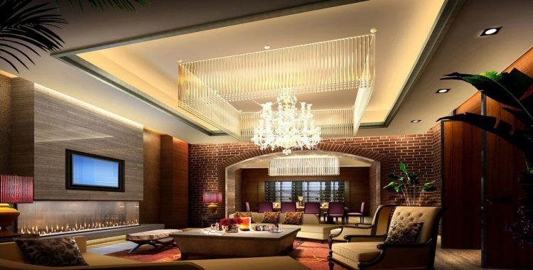 Luxury Basement Ceiling ideas