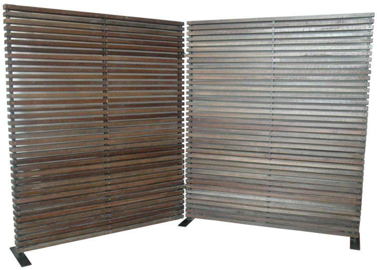 Corrugated Metal Divider