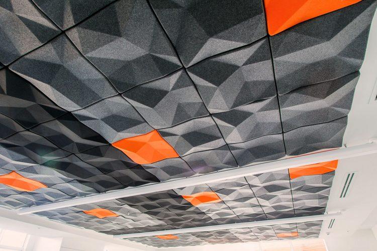 3D Tile Basement Ceiling Ideas