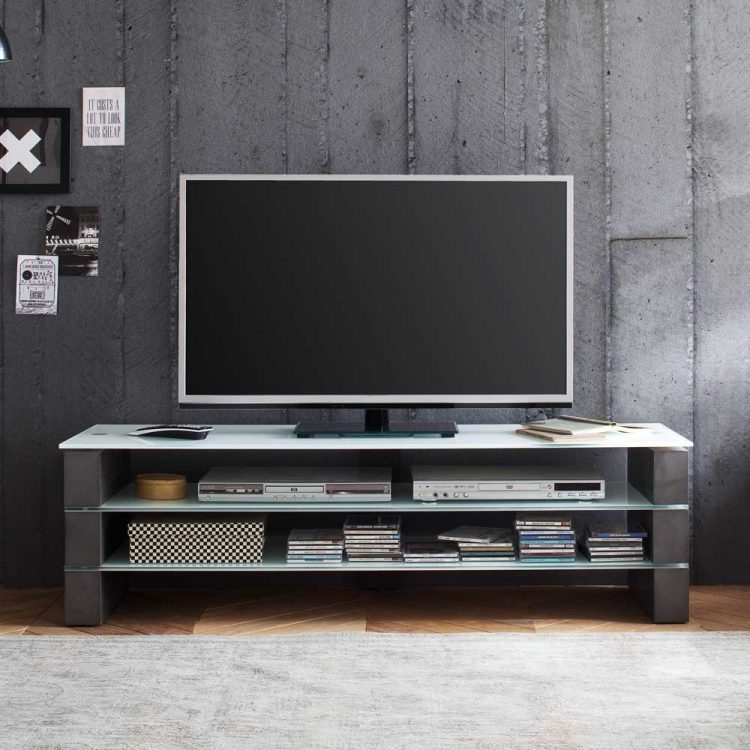 DIY TV Stand with Concrete