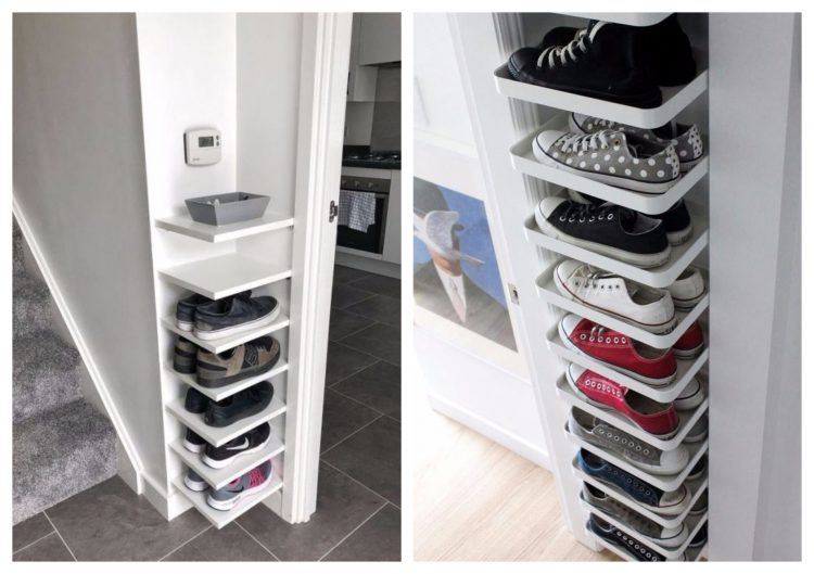 white Shoe Shelf