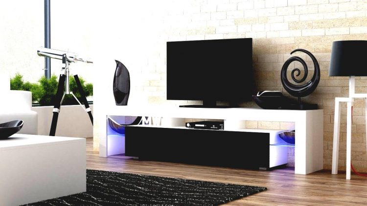 DIY TV Stand with Colour light