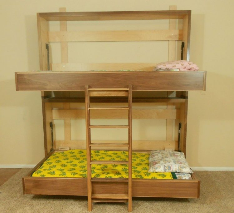 DIY Children Murphy Bed