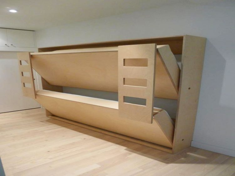 DIY Double Foldable Beds