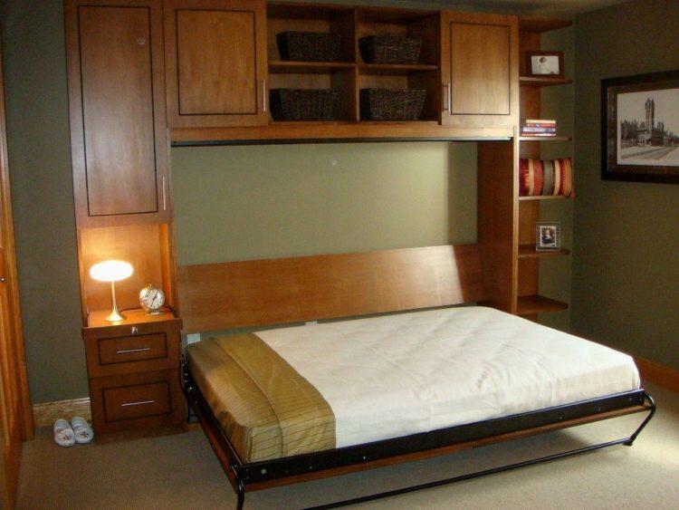 DIY Murphy Bed Wardrobe