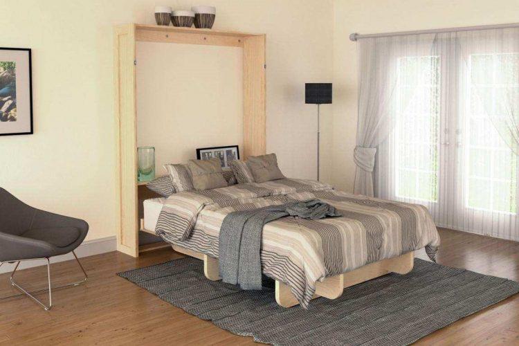 DIY Western Wall Bed