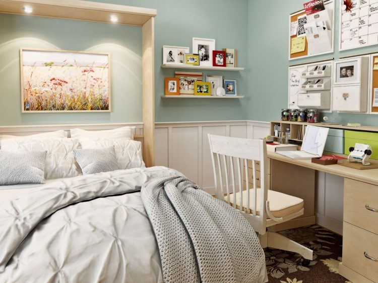 DIY Pastel Murphy Bed