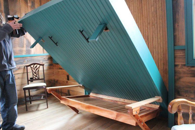 DIY Rustic Murphy Bed