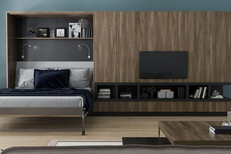 Door Murphy Bed Wall Cabinet