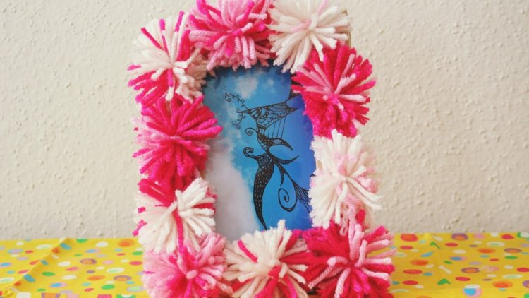 Cheerful DIY Picture Frame