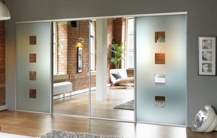 Glass & Mirror Closet Door Ideas