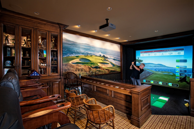 Luxury Man Cave Decor Ideas