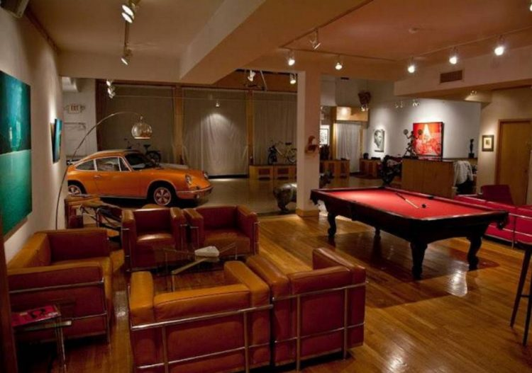 Man Cave Garage Ideas