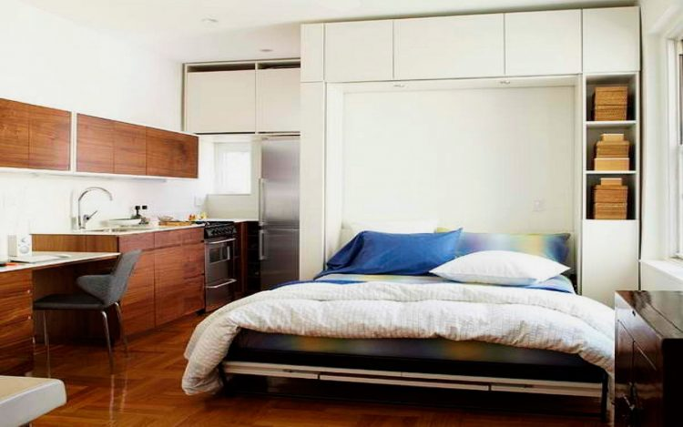 Modern Murphy Bed for Studio Apartment