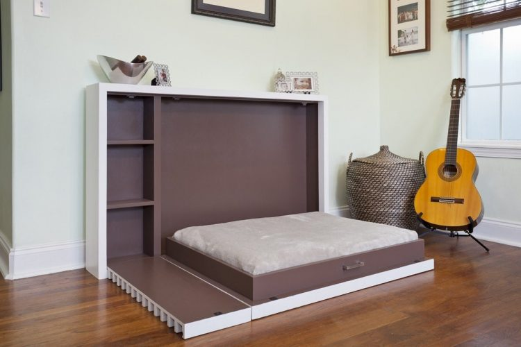 DIY Murphy Bed for Man Room Idea