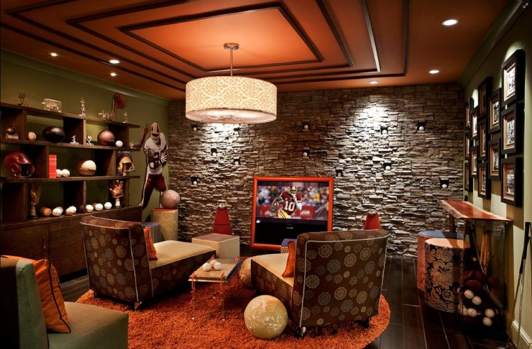 Sports Man Cave Ideas