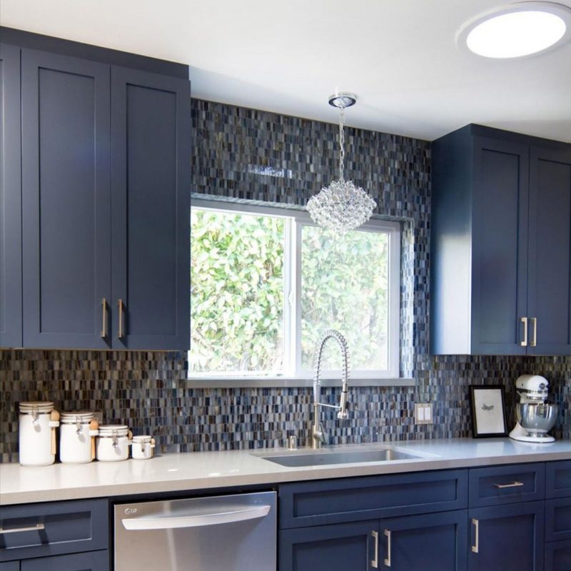 Exquisite Mosaic Pattern for Kitchen Backsplash