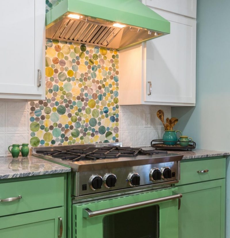 Surprising Removable Kitchen Backsplash