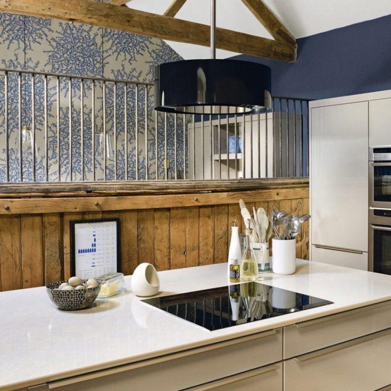 Appealing Rustic Kitchen Backsplash