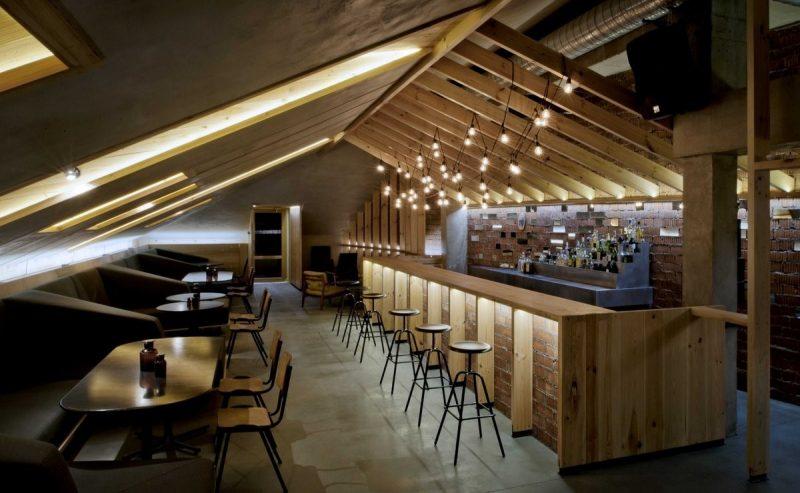 Home Bar Ideas Attic