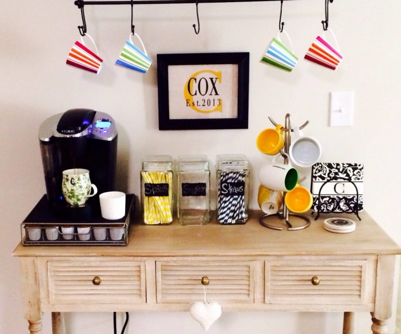 Home Coffee Bar Design Ideas: 20 Cool Home Bar Ideas On A Budget, For Your Home