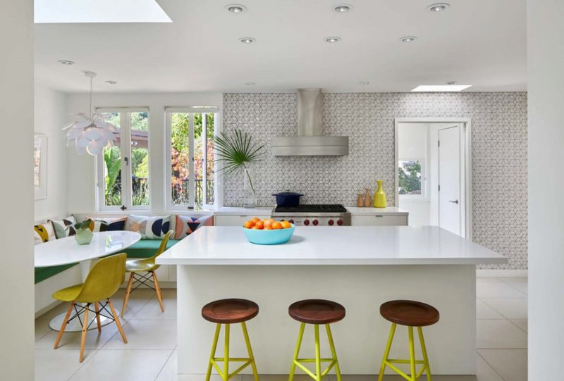 Mid Century Modern Kitchen Feature