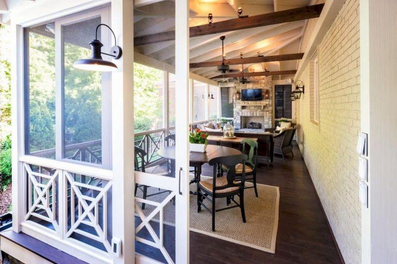Screen Porch Door Design
