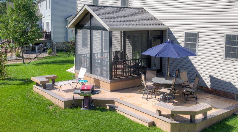 Screen Porch Ideas Plan